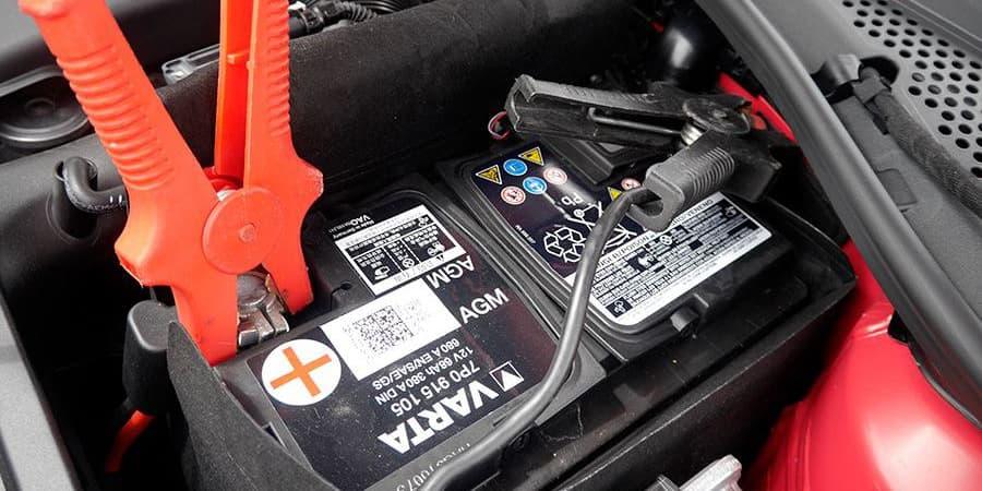 pinzas de cargador de batería