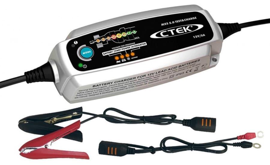 Mantenedor batería 5a ctek